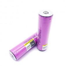 Batteri Li-ion 2600 mAh med inbyggd skyddskrets, Samsung ICR18650-26FM
