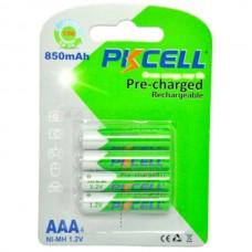 Batteri AAA, 850mAh, 4st/fp