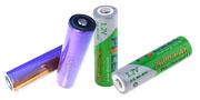 batterier för ficklampor