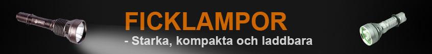 Ficklampor - Starka, kompakta och prisvärda